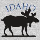 Idaho Moose by pjwuebker