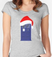 Santa Who Women's Fitted Scoop T-Shirt