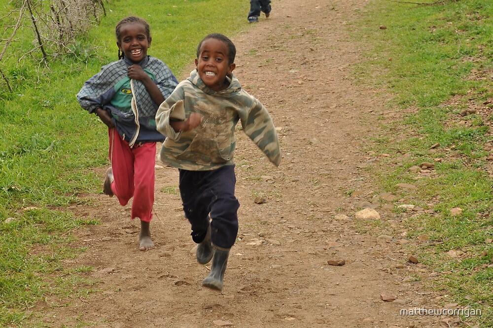 Ethiopian Youthful Joy by matthewcorrigan