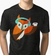 Winter Owl T-shirt chiné