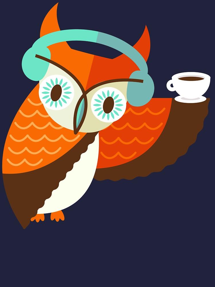 Winter Owl by murphypop
