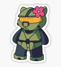 Halo Kitty Sticker