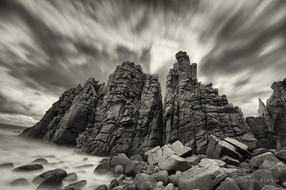 Pinnacles by James  Harvie