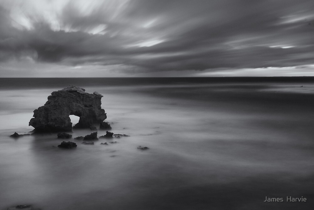 Blairgowrie surf beach by James  Harvie