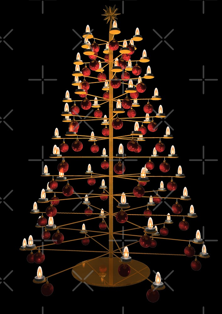modern christmas tree by Jicha