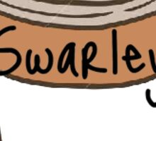 Swarley Coffee Cup Sticker