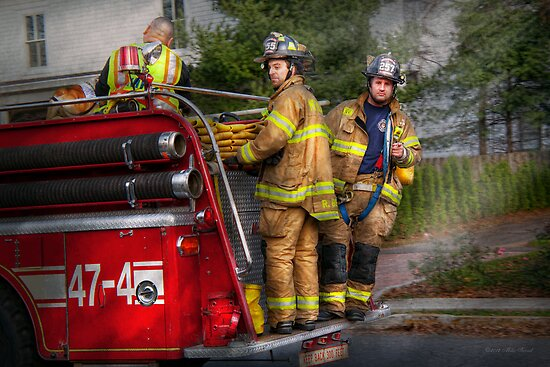 Firefighting - Only you can prevent fires by Michael Savad
