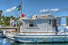 """""""The Yamacraw"""" docked on Eastern Road in Nassau, The Bahamas by Jeremy Lavender Photography"""