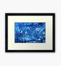 Abstract - Ocean Deep Framed Print