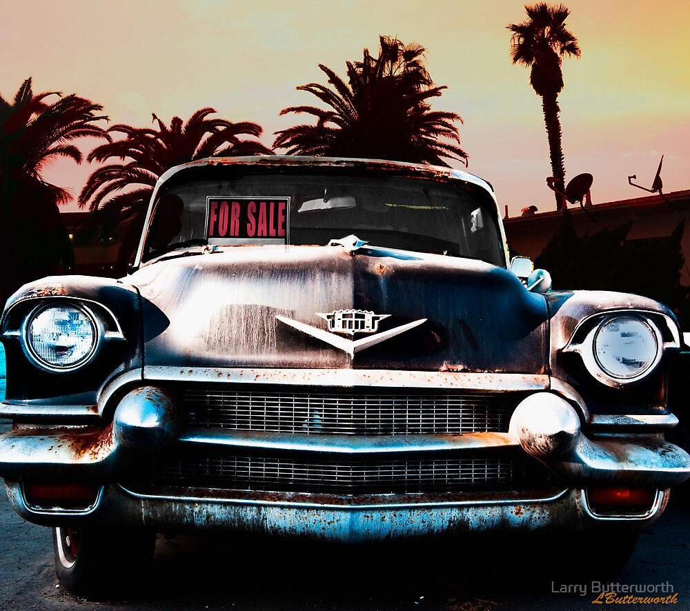 CADILLAC BLUES by Larry Butterworth