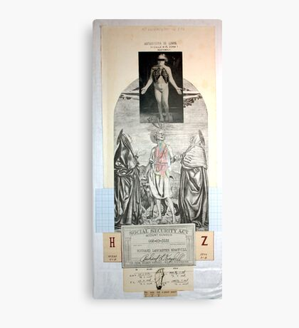 LOS PASOS DEL DISCIPULO (The steps of the disciple) Canvas Print