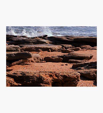 Rocky Surf  Photographic Print