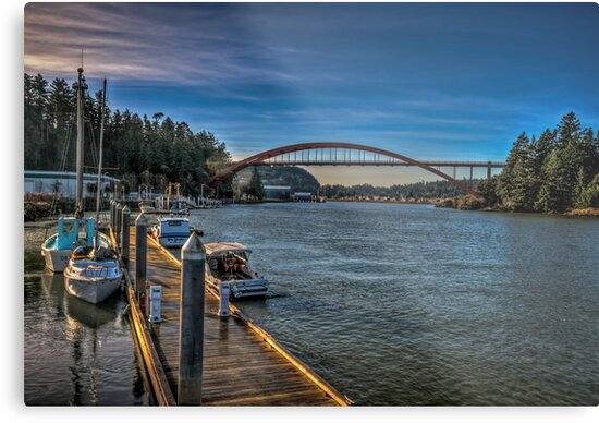 Rainbow Bridge by Steve Walser