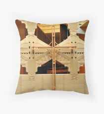 Cross, Frank Lloyd Wright Designed Chapel, Florida Southern College, Lakeland, Florida Throw Pillow