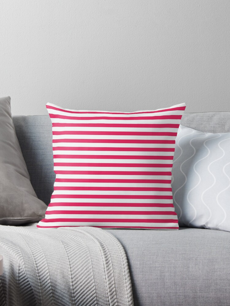 Red and White Stripes by emilysmithart