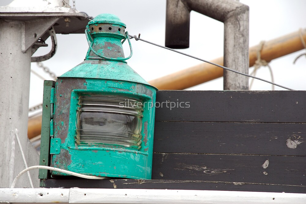 Turquoise colour portlight onboard traditional wooden ship, Brest 2008 Maritime Festival, Brittany, France by silverportpics