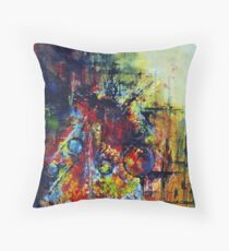 Pleiades, featured in Painters Universe, Artists Universe Throw Pillow