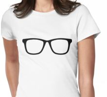 Hipster Frames Womens Fitted T-Shirt