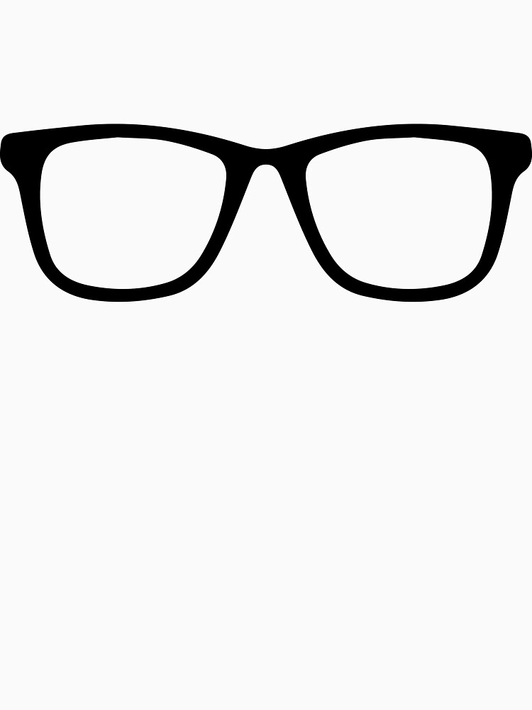 Hipster Frames by BoomShirts