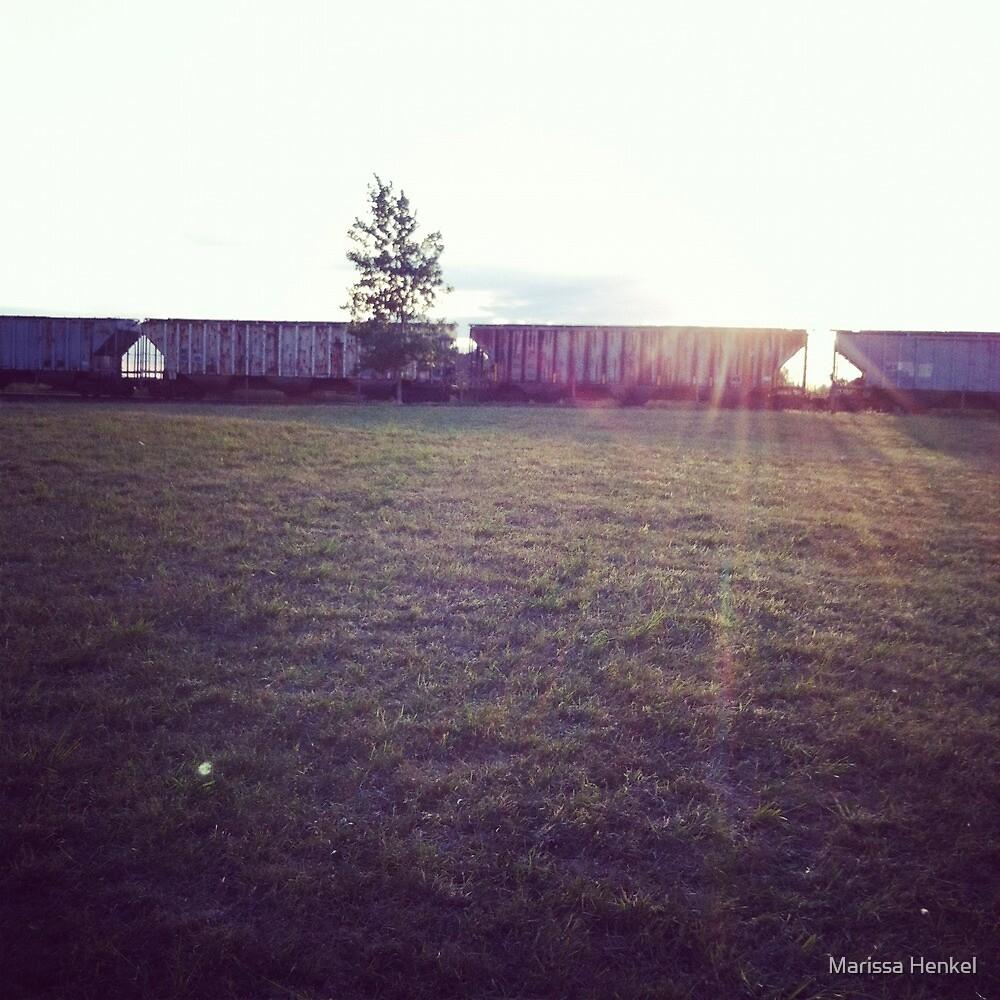 Trains by Marissa Henkel