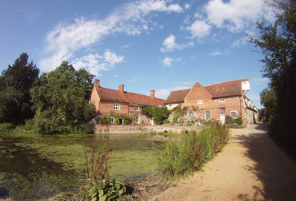 Flatford Mill Suffolk by priddlesworth
