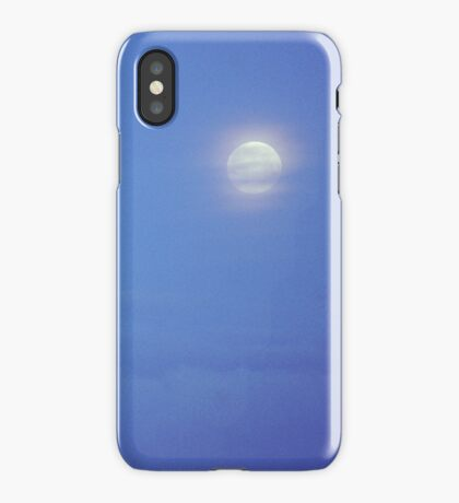 Full Moon over Brussels iPhone Case