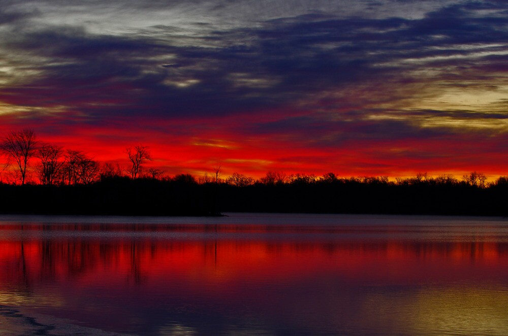 Red Sky at Morn by Wheelssky