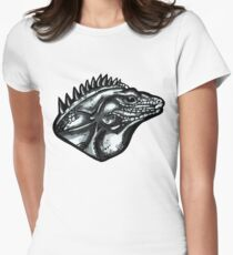 Dino  Women's Fitted T-Shirt