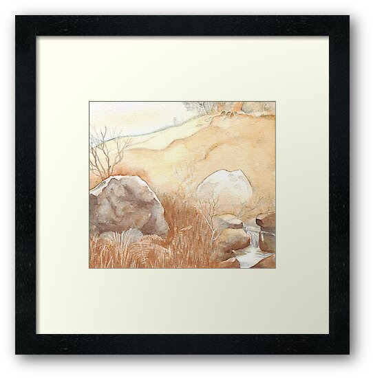 Landscape II (after Alan Lee) by Therese Doherty