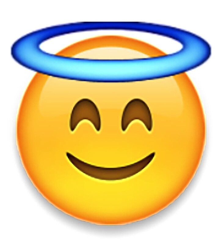 Engel Emoji: Rucksackbeutel | Redbubble