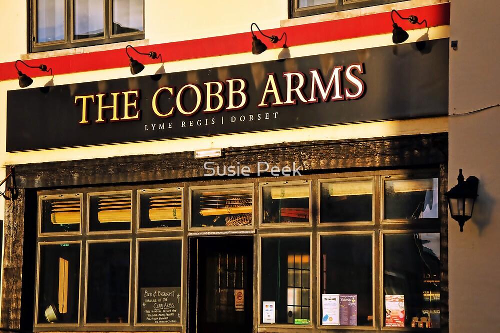 The Cobb Arms ~ Lyme Regis by Susie Peek