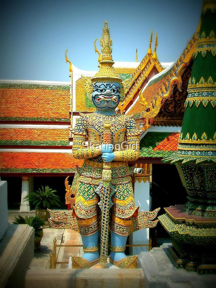 Grand Palace in Bangkok by SkatingGirl