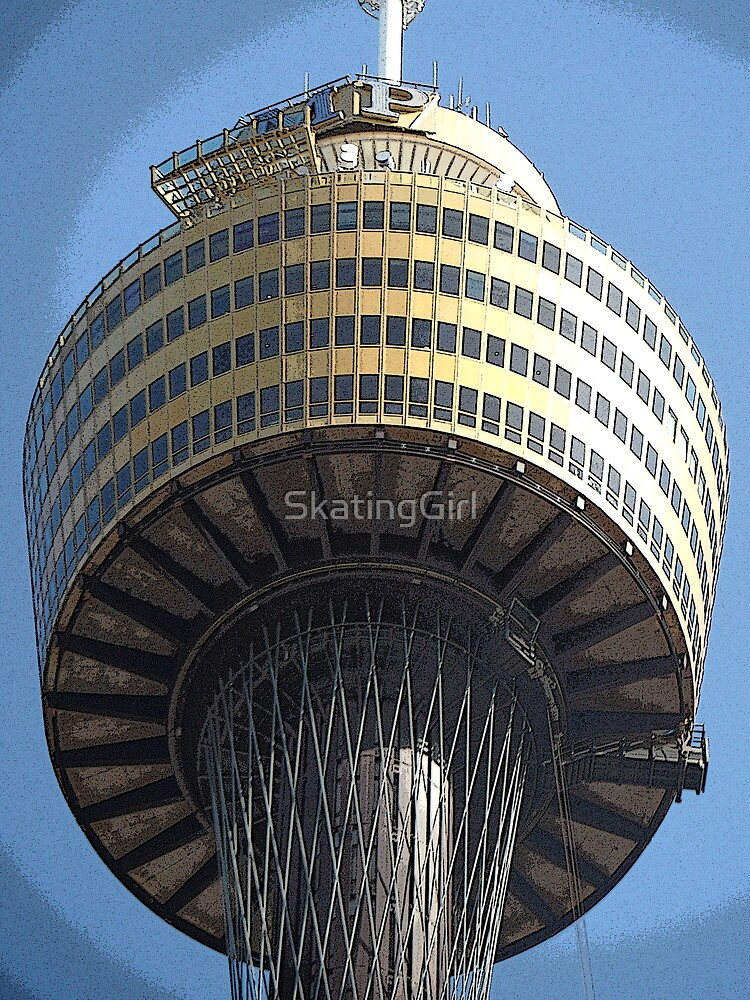 Sydney Tower Comic-Style by SkatingGirl