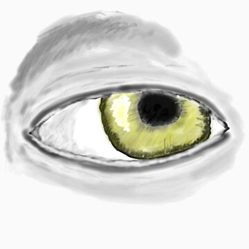 Eye of gold by hallowedguide