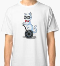 White and Nerdy Classic T-Shirt