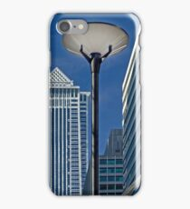 Lamppost in the City iPhone Case/Skin