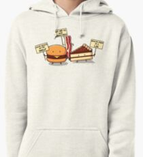 Occupy Stomach Pullover Hoodie