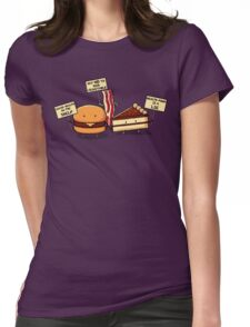Occupy Stomach Womens Fitted T-Shirt