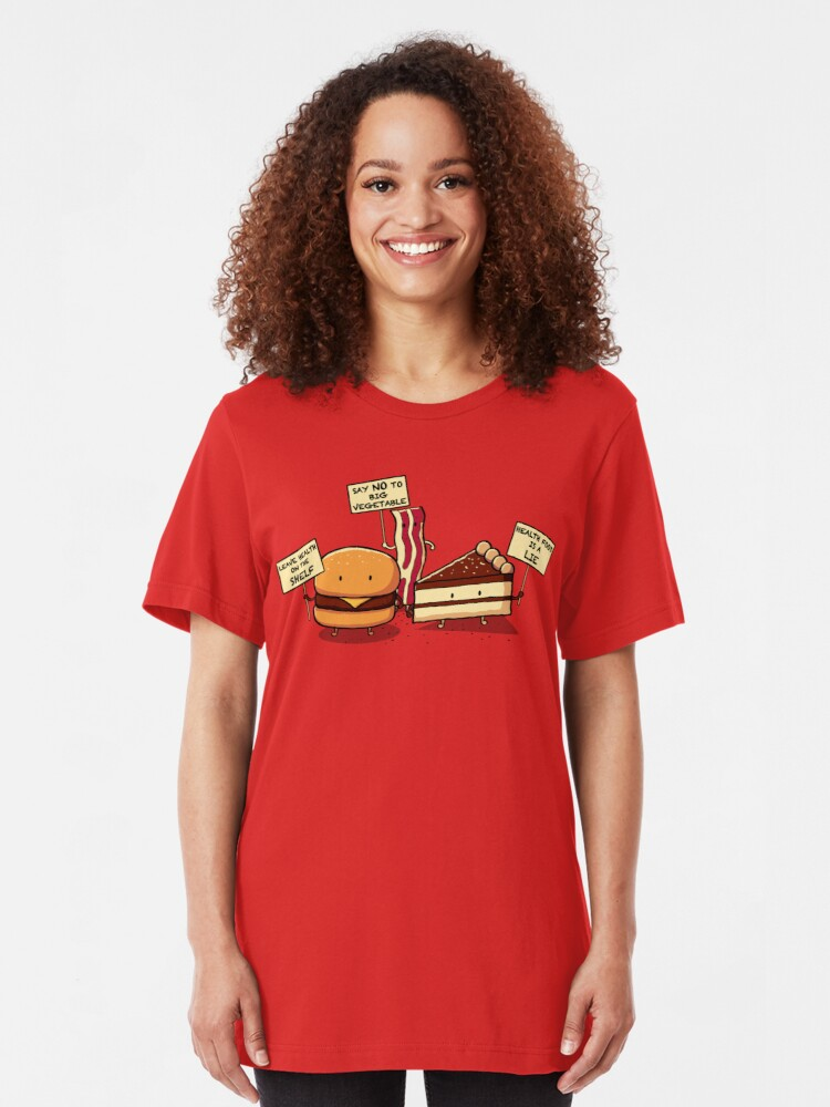 Alternate view of Occupy Stomach Slim Fit T-Shirt