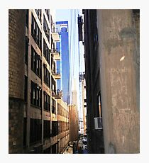 Rhiannon Campbell's 'Concrete Tight Rope' Photographic Print