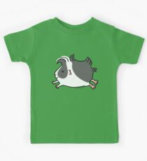 Leaping Guinea-pig ... Black and White  Kids Clothes