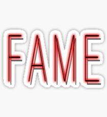 Fame Sticker