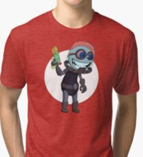 Mr Freeze heats things up Tri-blend T-Shirt