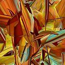 Shades of Orange Iphone by Deborah  Benoit
