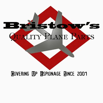 Jack Bristow Never Sold Airplane Parts! by cliberme