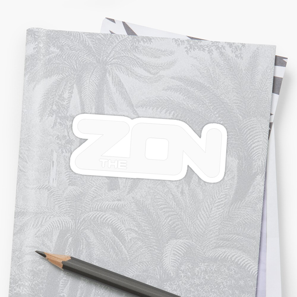 ZON classic (white ink) by brichar9