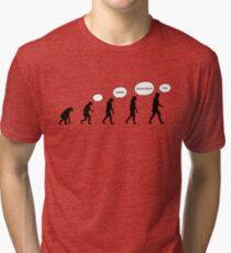 99 Steps of Progress - Language Tri-blend T-Shirt
