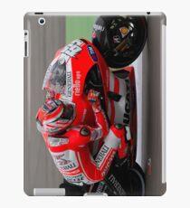Nicky Hayden at Assen 2011 iPad Case/Skin