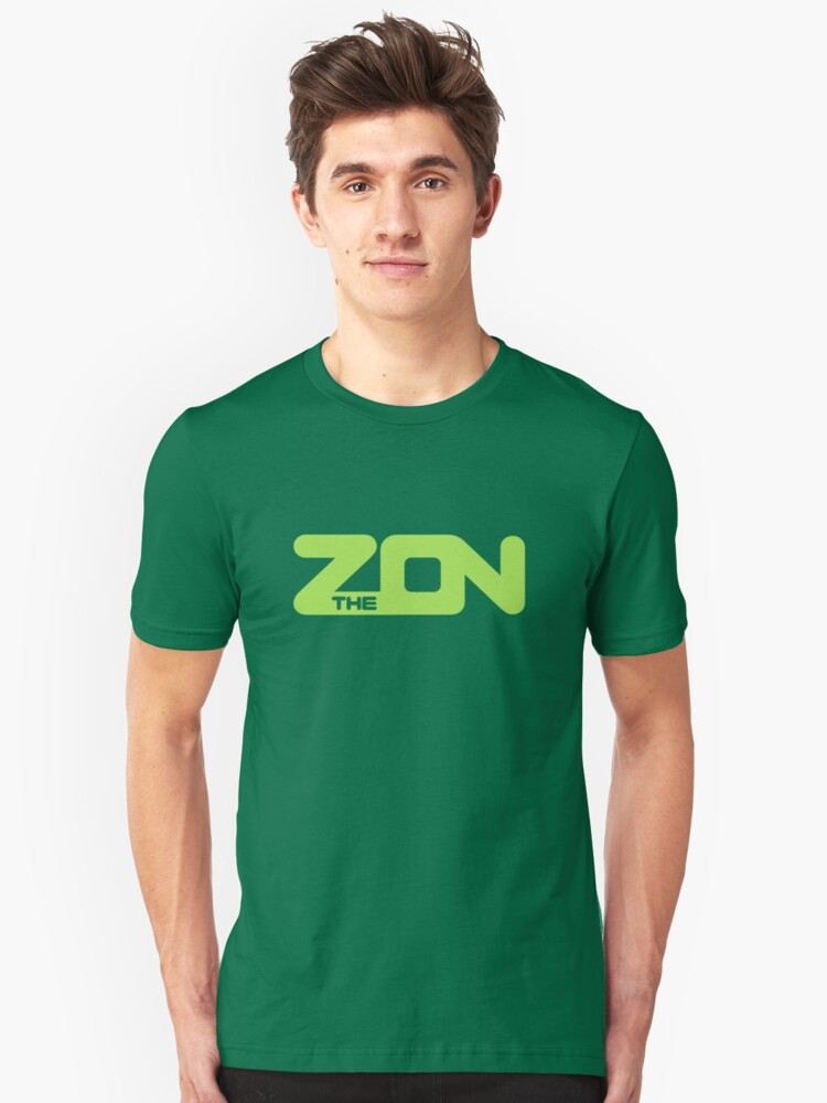 ZON classic (lime ink) Unisex T-Shirt Front