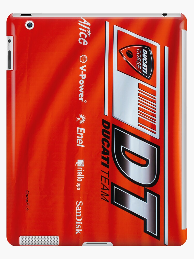 Ducati Banner iPhone case by corsefoto
